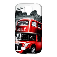 London Bus Samsung Galaxy S4 Classic Hardshell Case (PC+Silicone)