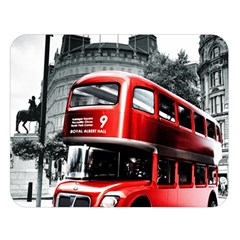 London Bus Double Sided Flano Blanket (Large)