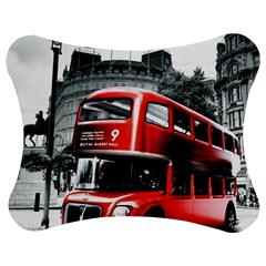 London Bus Jigsaw Puzzle Photo Stand (bow)