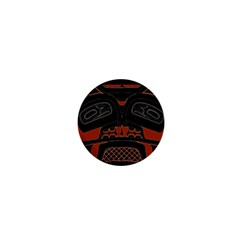 Traditional Northwest Coast Native Art 1  Mini Magnets