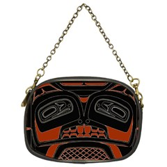 Traditional Northwest Coast Native Art Chain Purses (one Side)