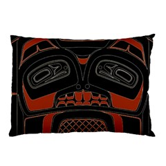 Traditional Northwest Coast Native Art Pillow Case