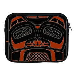 Traditional Northwest Coast Native Art Apple iPad 2/3/4 Zipper Cases