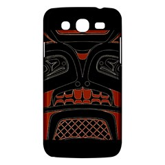 Traditional Northwest Coast Native Art Samsung Galaxy Mega 5.8 I9152 Hardshell Case