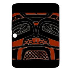 Traditional Northwest Coast Native Art Samsung Galaxy Tab 3 (10.1 ) P5200 Hardshell Case