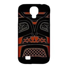 Traditional Northwest Coast Native Art Samsung Galaxy S4 Classic Hardshell Case (pc+silicone)