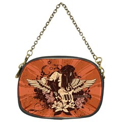 Rock Music Moves Me Chain Purses (One Side)