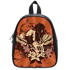 Rock Music Moves Me School Bags (small)