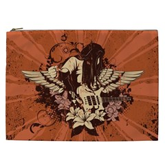 Rock Music Moves Me Cosmetic Bag (XXL)