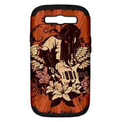 Rock Music Moves Me Samsung Galaxy S III Hardshell Case (PC+Silicone)