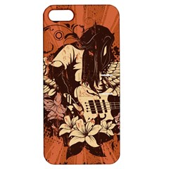 Rock Music Moves Me Apple Iphone 5 Hardshell Case With Stand