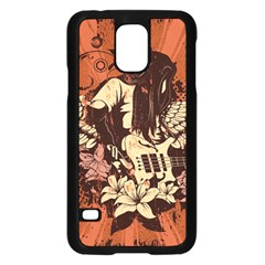 Rock Music Moves Me Samsung Galaxy S5 Case (Black)