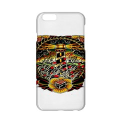 Tattoo Art Print Traditional Artwork Lighthouse Wave Apple iPhone 6/6S Hardshell Case