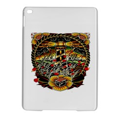 Tattoo Art Print Traditional Artwork Lighthouse Wave iPad Air 2 Hardshell Cases