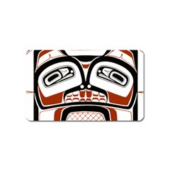 Traditional Northwest Coast Native Art Magnet (Name Card)