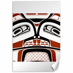Traditional Northwest Coast Native Art Canvas 20  X 30