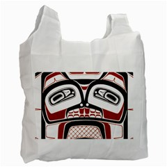 Traditional Northwest Coast Native Art Recycle Bag (Two Side)