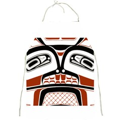 Traditional Northwest Coast Native Art Full Print Aprons