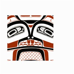 Traditional Northwest Coast Native Art Small Garden Flag (two Sides)