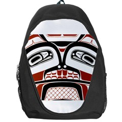 Traditional Northwest Coast Native Art Backpack Bag