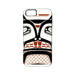 Traditional Northwest Coast Native Art Apple Iphone 5 Classic Hardshell Case (pc+silicone)