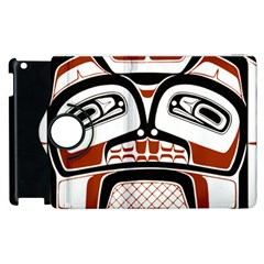 Traditional Northwest Coast Native Art Apple iPad 2 Flip 360 Case