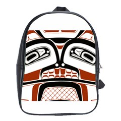 Traditional Northwest Coast Native Art School Bags (XL)