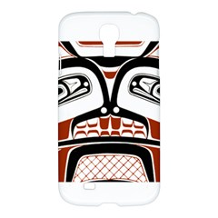 Traditional Northwest Coast Native Art Samsung Galaxy S4 I9500/I9505 Hardshell Case