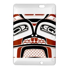 Traditional Northwest Coast Native Art Kindle Fire Hdx 8 9  Hardshell Case