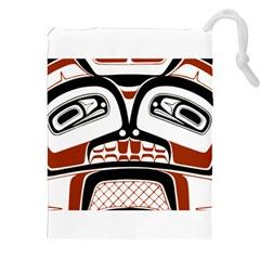Traditional Northwest Coast Native Art Drawstring Pouches (XXL)