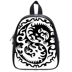Ying Yang Tattoo School Bags (Small)