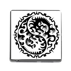 Ying Yang Tattoo Memory Card Reader (square)