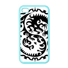 Ying Yang Tattoo Apple iPhone 4 Case (Color)