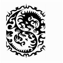 Ying Yang Tattoo Large Garden Flag (two Sides)