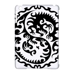 Ying Yang Tattoo Apple iPad Mini Hardshell Case (Compatible with Smart Cover)