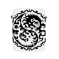 Ying Yang Tattoo Apple iPad 2/3/4 Protective Soft Cases