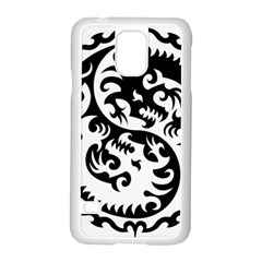 Ying Yang Tattoo Samsung Galaxy S5 Case (White)