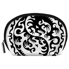 Ying Yang Tattoo Accessory Pouches (Large)