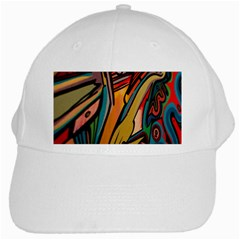 Vivid Colours White Cap