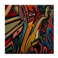 Vivid Colours Tile Coasters