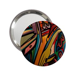Vivid Colours 2.25  Handbag Mirrors