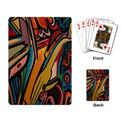 Vivid Colours Playing Card