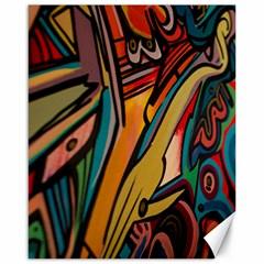 Vivid Colours Canvas 16  x 20