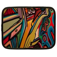 Vivid Colours Netbook Case (XXL)
