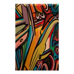 Vivid Colours Shower Curtain 48  x 72  (Small)