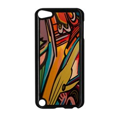 Vivid Colours Apple iPod Touch 5 Case (Black)