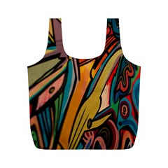 Vivid Colours Full Print Recycle Bags (m)