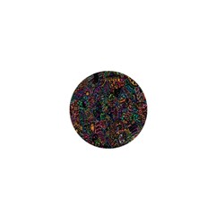 Trees Internet Multicolor Psychedelic Reddit Detailed Colors 1  Mini Magnets