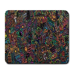 Trees Internet Multicolor Psychedelic Reddit Detailed Colors Large Mousepads