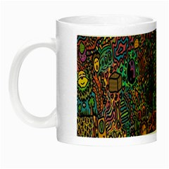 Trees Internet Multicolor Psychedelic Reddit Detailed Colors Night Luminous Mugs
